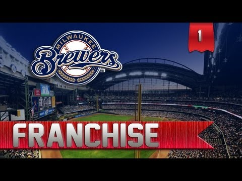 MLB 13 The Show Franchise | Milwaukee Brewers [EP 1]