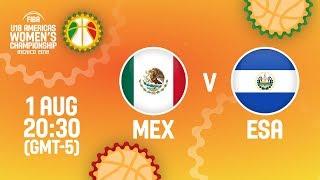 Мексика до 18 (Ж) : Сальвадор до 18 (Ж)