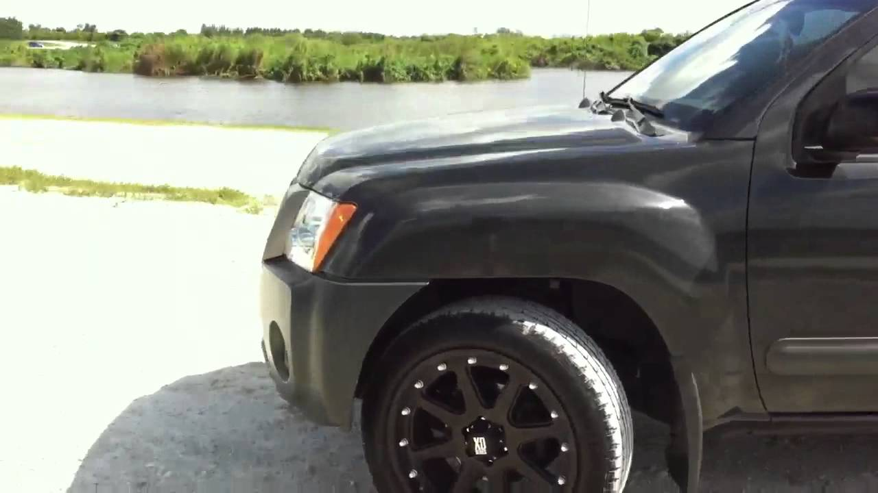 Nissan Xterra Blacked Out >> Nissan Xterra Modified - YouTube