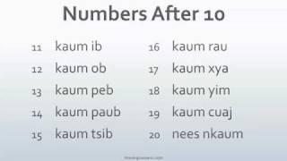 Speak Hmong 101 Lesson 4