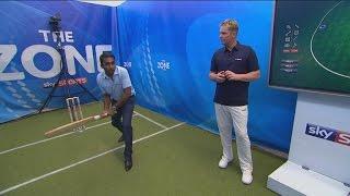 Shane Warne and Mahela Jayawardene Cricket Bowling and Batting Lessons
