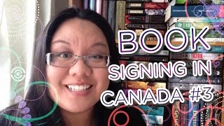 Teen, Young Adult and Children Book Signings in Canada #3