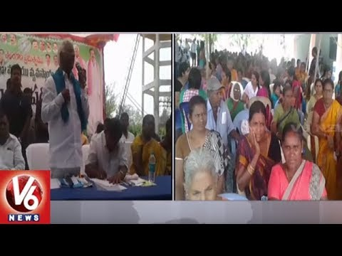 Dy CM Kadiyam Srihari Launches Rythu Bandhu Scheme In Ramanjapur Of Bhupalpally | V6 News