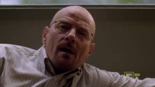 Breaking Bad - Walter White trying to kiss