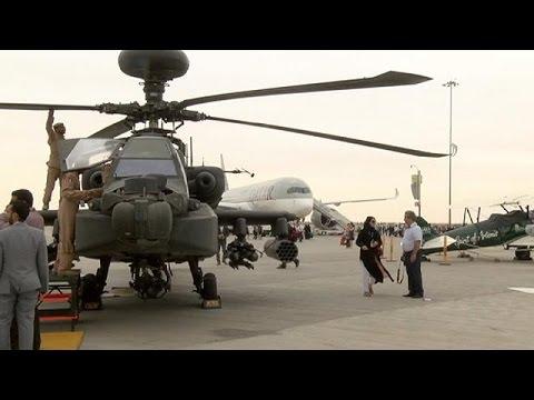Indústria da defesa ativa no Dubai Airshow 2015 - economy