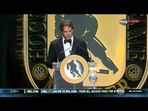 Joe Sakic HHOF Induction Speech