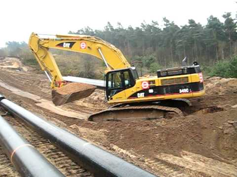 Caterpillar 345C  with 4m shovel !
