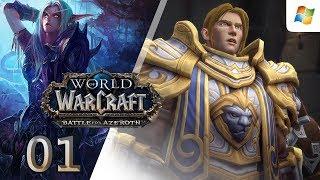 World of Warcraft: Battle for Azeroth 【PC】 Alliance Night Elf Hunter │ #01