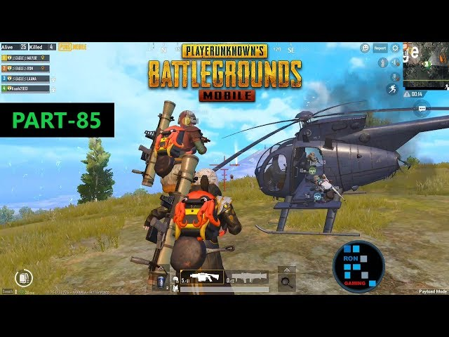 PUBG MOBILE  INTENSE FIGHT IN THE END GAME, WE GOT STUCK BETWEEN TWO SQUADS