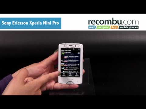 Sony Ericsson Xperia Mini Pro video review