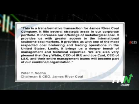 James River Coal Company Reports Q4 Results, Announces Acquisition (JRCC)