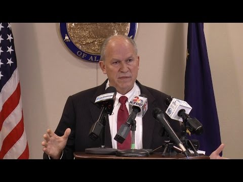 Watch Gov. Bill Walker's entire natural gas press conference