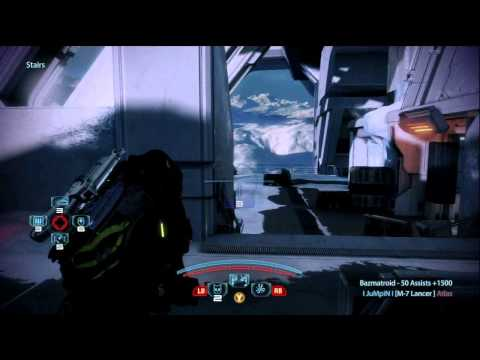 ME3 The M-7 Lancer (Gameplay Commentary)