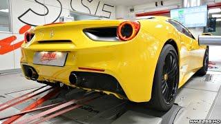 Ferrari 488 GTB with Sports Valvetronic Exhaust Dyno Runs!