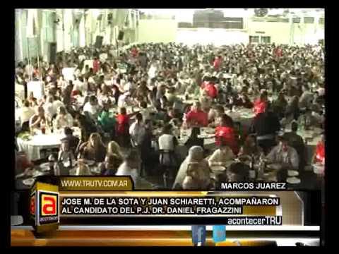 JOSE MANUEL DE LA SOTA, ALMUERZO DEL P J  MARCOS JUAREZ NEW
