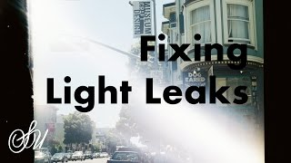 How to Fix Light Leaks in Film Cameras