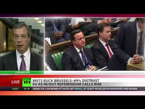 Farage: Germans keen to keep UK in EU, not Brits