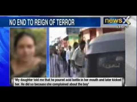A 21 year-old girl forced to drink acid by ex-boyfriend in Mumbai - NewsX
