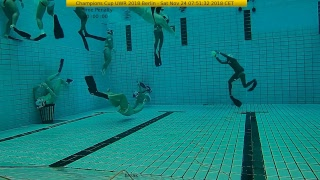 Champions Cup 2018 Underwater Rugby
