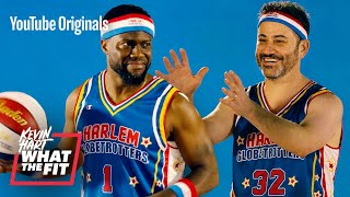 Harlem Globetrotters Train Jimmy Kimmel and Kevin Hart