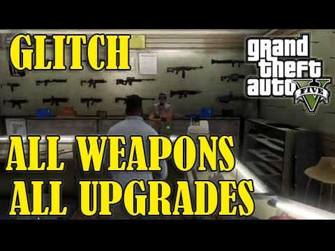 Gta 5 New Guns Gta 5 Glitch All Weapons