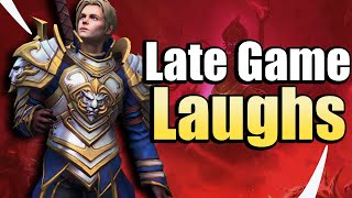 Holding Out for the Late Game? Anduin Holy Heck - Heroes of the Storm w Kiyeberries