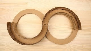 How to make track toys from Cardboard for kids Diy very easy