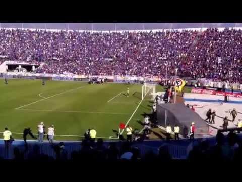 Penal G. Canales U. de Chile 1 - U. La Calera: 0. Campeón Apertura 2014.