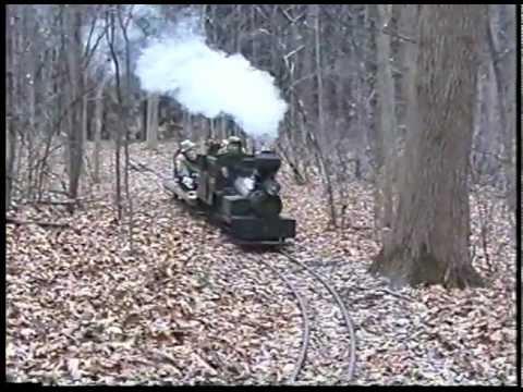 Pt. 3 12 inch gauge live steam Home built Shay locomotive