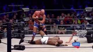 TNA Impact Wrestling 20 03 2015 Bobby Lashley vs Kurt Angle