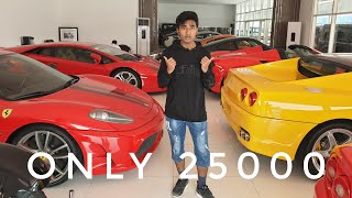 USED SUPER CAR SHOPPING IN DUBAI!!! ALL CARS LESS THAN 60 LAKHS..