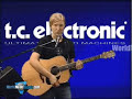 TC Electronic G Natural Acoustic Guitar Effects Processor