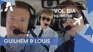 Vol BIA - CREIL - LE TOUQUET - LE HAVRE - CREIL, le 9 juin 2016