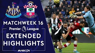 Newcastle v. Southampton | PREMIER LEAGUE HIGHLIGHTS | 12/08/19 | NBC Sports