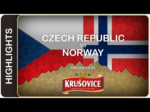 Rampant Czechs rout Norway | Czech Republic-Norway HL | #IIHFWorlds 2016