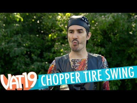 Chopper Tire Swing