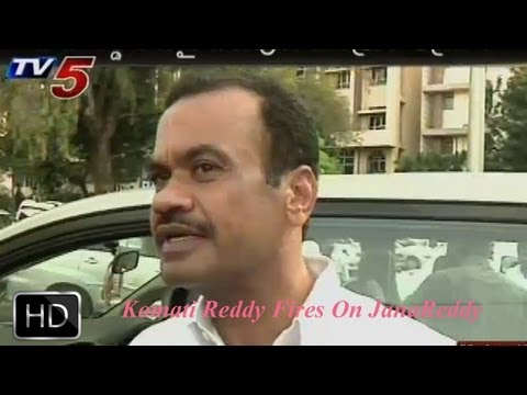 T Congress Leaders Fire On Jana reddy  -  TV5