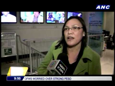 0 - Watch News OFWs worried as peso continues to strengthen - Philippine Daily News