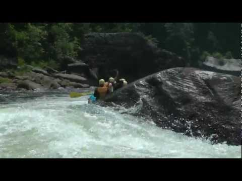 Pillow Rock Rapid - Summer Gauley River