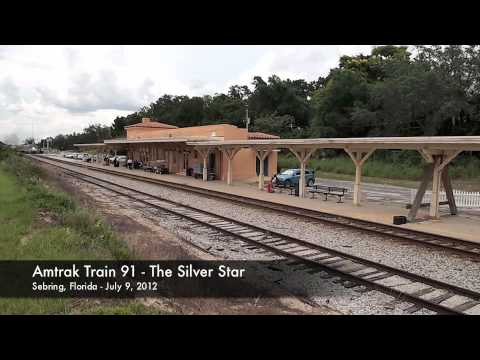Sebring, Florida Amtrak 7/09/12