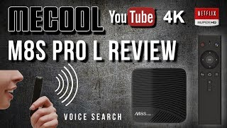 2018 Mecool M8S Pro L Voice Control Amlogic S912 Octa Core 4K Android TV Box Review