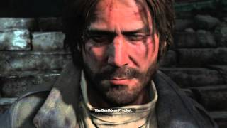 """Rise of The Tomb Raider - Jacob, The """"Deathless Prophet"""" Heals Jonah at Observatory Cutscene XBO"""