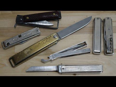 Нож по мотивам советского рамочника