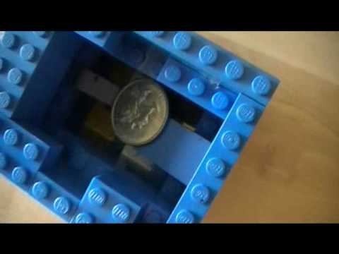 how to make a simple lego gumball machine