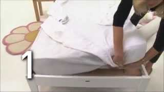 Dream Tubes Sleep Safety Bed Bumpers - Demonstration | BabySecurity