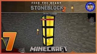 StoneBlock 2 Modpack Ep 7 - Flux Networking - Modded Minecraft