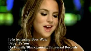 JoJo ft. Bow Wow - Baby It's You (Official Music Video)