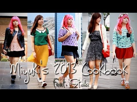 2013 Lookbook | 8 Japanese/Korean Inspired Styles