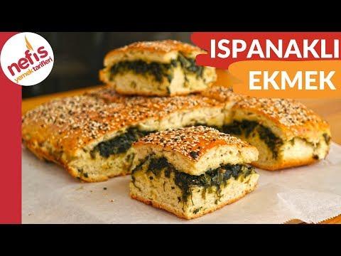 DENEYENLERİN VAZGEÇEMEYECEĞİ 💯  Ispanaklı Ekmek Tarifi