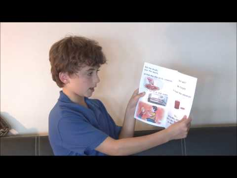 Cute Kid Reads Out Loud | Kid Reading Book Aloud